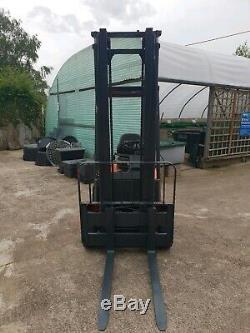 Linde E15 1500kg Electric Forklift Fork Lift Forktruck Truck