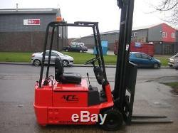 Linde E15 1500kg Electric Forklift Fork Lift Forktruck Truck AH697