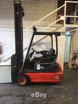 Linde E16 C 02 48 Volt Electric Fork Lift Truck Forktruck £4,495 + Vat