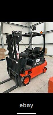 Linde E16 Electric Counterbalance Forklift Truck