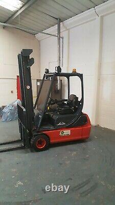 Linde E18 Forklift Truck