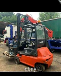 Linde E20 Electric Forklift Truck