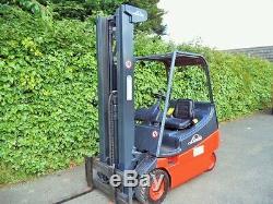 Linde E20 electric forklift truck/ TCM, Toyota, Hyster, BT, Mitsubishi, Still, Clark