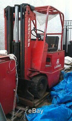 Linde Electric Forklift Fork Lift Forktruck Truck