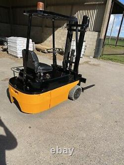 Linde Forklift Electric 1.5 Ton Fork Lift Truck Lansing