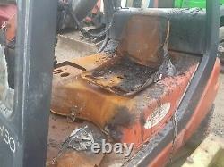 Linde Forklift Truck H30 SPARES REPAIR Fire Damage Deutz Diesel Engine