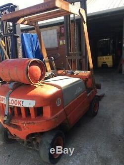 Linde Gas Forklift Truck 1.5 Ton