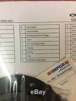 Linde Genuine Repair Kit for LPG Forklift Trucks IMPCO (2)
