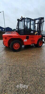 Linde H120 Diesel Big Forklift Truck 2006 Container Handler Hyster