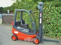 Linde H12T GAS/LPG Counterbalance forklift truck. Not diesel Hyster, Halla, Tcm