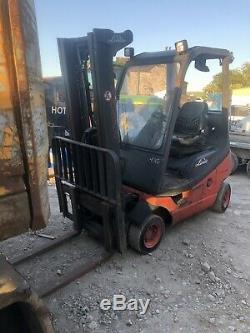 Linde H16-D Diesel Low Mast Container Spec Forklift Linde Fork Lift Truck