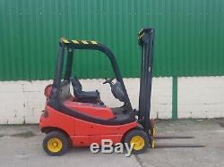 Linde H16T GAS/LPG Counterbalance forklift truck 5m