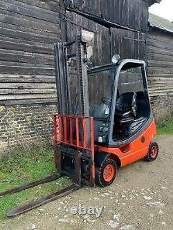 Linde H16T Gas Forklift Truck 1.6 Tonne