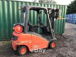 Linde H16t Gas Forklift Truck, Low Hours, Container Spec