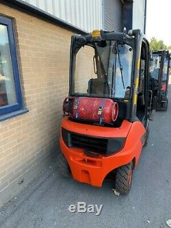 Linde H18 Gas Lpg Counterbalance Forklift Truck 2016