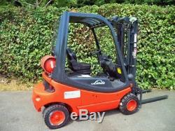 Linde H20T GAS/LPG Counterbalance forklift truck