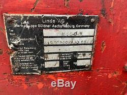 Linde H30. Diesel Forklift Truck 3 Ton Lift Deutz Engine Bargain Digger Dumper