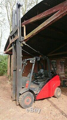 Linde H30T lpg 3 ton forklift truck high mast