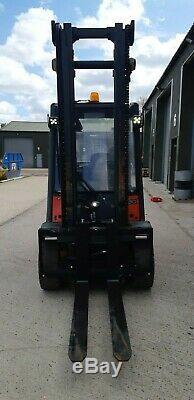 Linde H30d/ 393 2012 Diesel F/l Truck 3000kg 3.95 Clear View Vgc Full Steel Cab