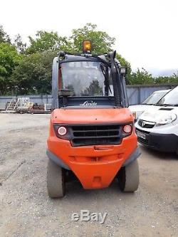 Linde H40d/ 394 2010 Diesel F/l Truck 4000kg In Vgc Full Steel Cab