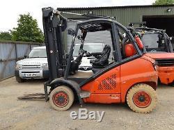 Linde H40t/ 394 2010 Gas F/l Truck 4000kg In Vgc