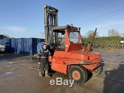 Linde H60 6 Ton Diesel Forklift Fork Truck Deutz Engine