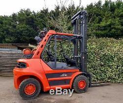 Linde H60T Gas Counterbalance Forklift Truck/ Not Kamlar/SMV/Hyster/Caterpillar