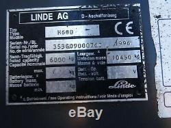 Linde H60d Used Diesel Forklift Truck. (#2356)