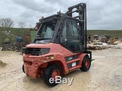 Linde H70D, Forklift Truck, Diesel, 7 Ton Lift, Heavy Lift, Compact Fork Truck