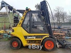 Linde H70d-02 Diesel F/l Truck 7000kg Lift Cap 3& 4 -5 & 6 Hyd Spares Or Repairs