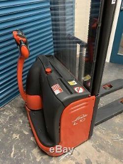 Linde L10 Electric Forklift Truck Pedestrian Pallet Stacker Fork Lift Electron