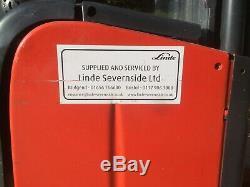 Linde L14 Electric Pallet Stacker ForkLift Truck