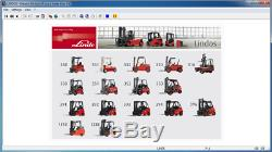 Linde Lindos 2014 Parts Catalog EPC for Linde ForkLift Trucks