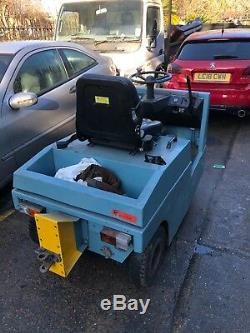 Linde P60 electric tow truck-tug-tractor with charger