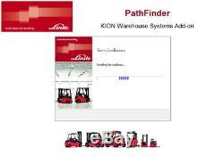 Linde PathFinder v3.6.2.11 11.2017 forklift truck Diagnostic software diagnosi