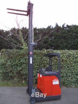 Linde R12C forklift reach truck/ Toyota, Hyster, BT, Mitsubishi