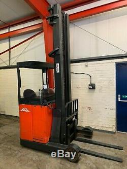Linde R14 Forklift Truck 1.4 Ton Electric Reach Truck