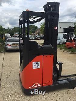Linde R14 Reach Truck Forklift