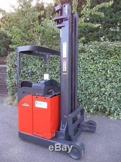 Linde R14S forklift reach truck/Not diesel