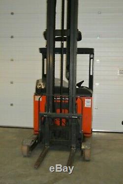 Linde R16 Reach Forklift Truck Warehouse Fork Pallet