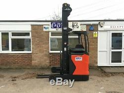 Linde R16 Reach Truck 7960mm Triple Mast 2015 Forklift 6x Available Toyota JCB