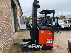 Linde R16 Reach Truck Forklift