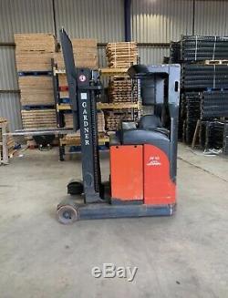 Linde R16N Reach Forklift Truck Warehouse Fork Pallet