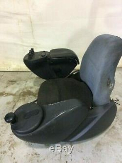 Linde R16X seat with controls, Forklift, Reach Truck seat