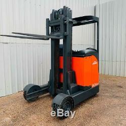Linde R16g Used Indoor/outdoor Reach Forklift Truck (#2946)