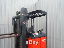 Linde R16n Used Electric Reach Forklift Truck. (#2455)