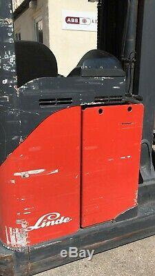 Linde R20S Electric Forklift Reach Truck 2.0 Tonne Ton