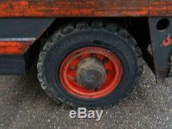 Linde S40 Used Diesel Side-loader Forklift Truck. (#2232)
