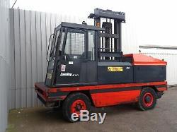 Linde S50 Used Diesel Side-loader Forklift Truck. (#2291)