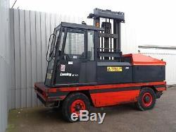 Linde S50 Used Diesel Sideloader Forklift Truck. (#2291)